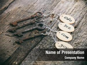 Domain wooden tags names old