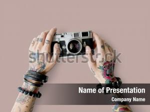 Alternative photography tattoo camera