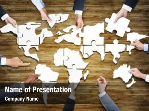 People group business jigsaw puzzle