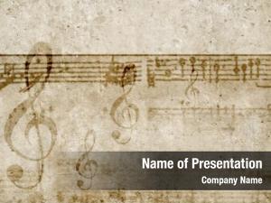 Theme conceptual music keys notes