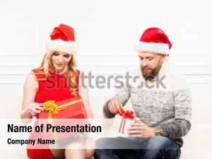 Happiness presents couple christmas
