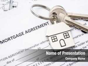 Agreement mortgage loan application house