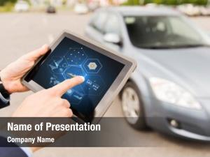 Vehicle technology powerpoint template