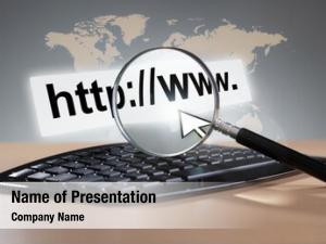 Computer magnifying glass keyboard web
