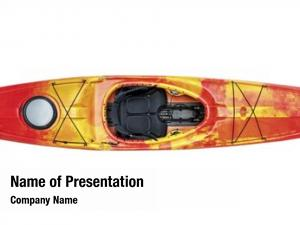 Crossover top view kayak (whitewater