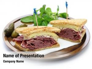 Pastrami reuben sandwich swiss cheese