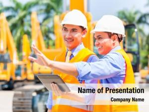 Controlling asian engineer construction machinery