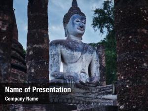 Sukhothai buddha statue historical park