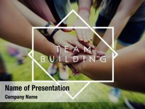 Team team building collaboration concept