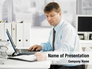 Office, businessman working searching personal