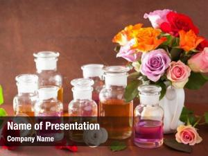 Treatment rose essential oil