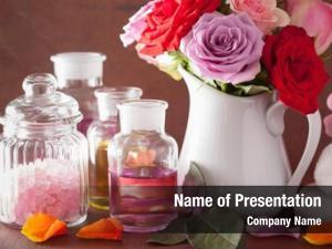 Rose spa aromatherapy flowers