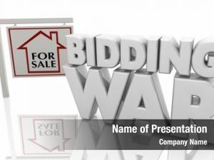 Home bidding war house sale
