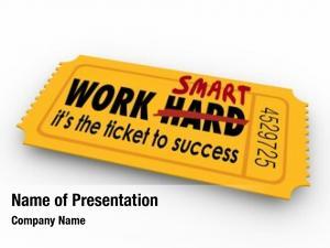 Not work smart hard words