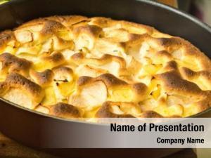 Pie organic apple dessert ready