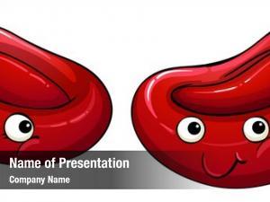 Blood illustration red cells