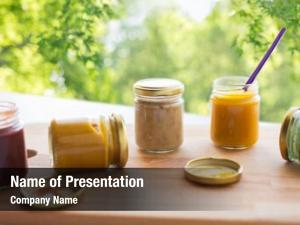 Healthy baby food, eating nutrition