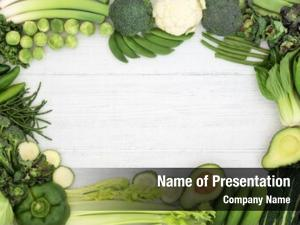 Green high fibre vegetable border,