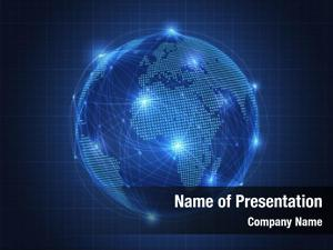 Global business concept network connection