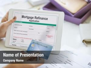 Application mortgage refinance application