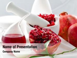 Pomegranate, organic cosmetics alternative medicine,