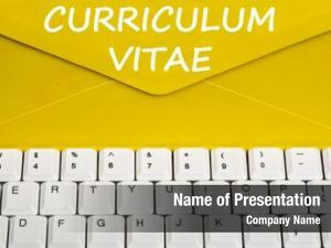 Message curriculum vitae envelope