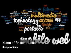 Mobile concept conceptual web portable