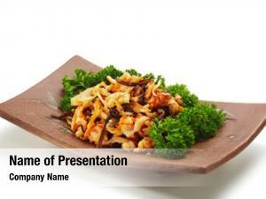 Salad japanese cuisine made marinated