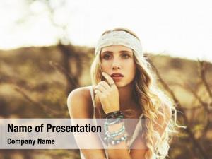 Beautiful fashion portrait young woman