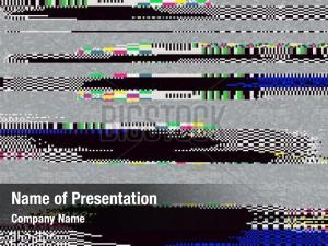 100+ Glitch PowerPoint Templates - PowerPoint Backgrounds for Glitch