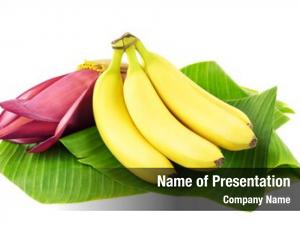 Fruits fresh banana banana blossom