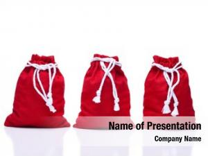 Santa three red claus toy