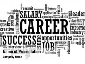 Employment job career opportunity word
