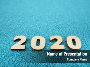 Year happy new 2020 concept,