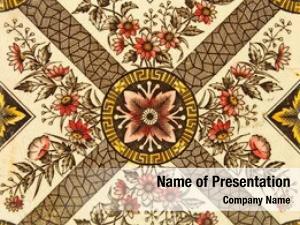 Aesthetic late victorian design tile