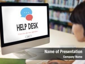 Assistance help communication service