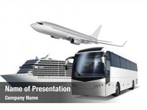 Ship collage plane, bus white