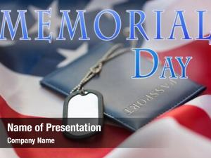 Patriotism memorial day, military service