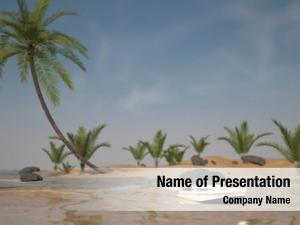 Tropic island powerpoint template