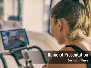 Home smart fitness workout biking