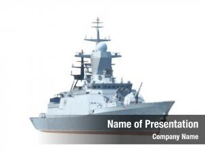Under military ship white