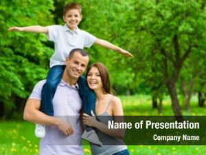 Three happy family