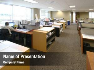 Large work floor corporate office
