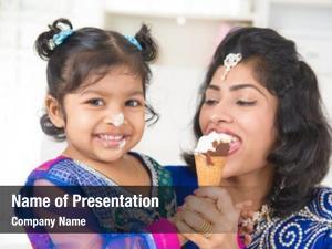 India happy asian family sharing