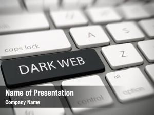 Concept dark web inaccessible web
