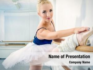 Training dancer beautiful ballet