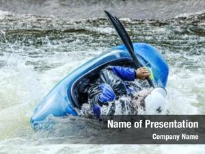 Whitewater kayak rolling