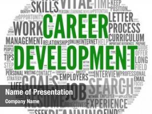 Word career development tag cloud