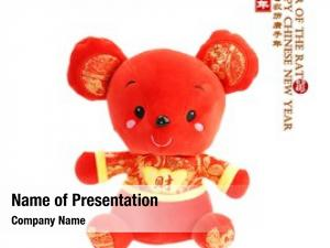 Cloth tradition chinese doll rat,2020