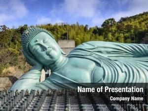 Nanzoin reclining buddha temple fukuoka,